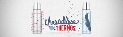 Threadless Loves Thermos