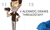 Alex Draws Threadstaff!