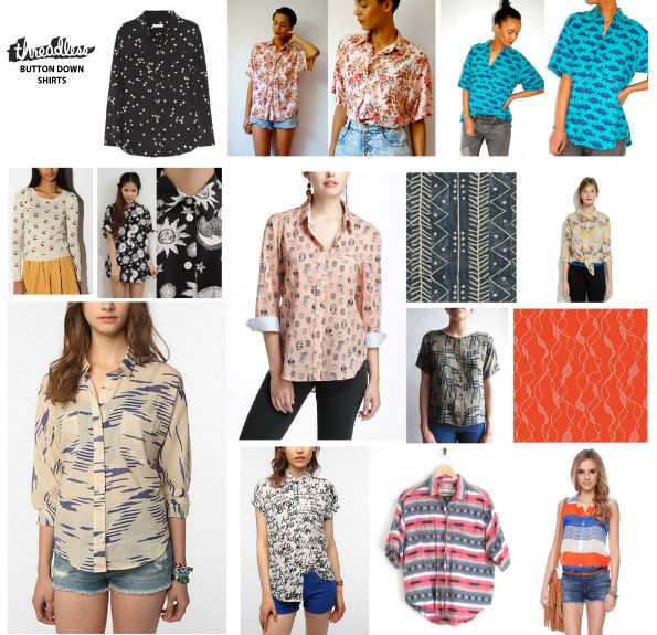Design a pattern for a Button Down Shirt! | Blog | Threadless